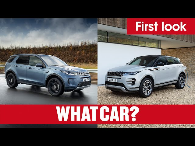 2020 Range Rover Evoque & Land Rover Discovery Sport plug-in hybrid SUVs REVEALED | What Car?