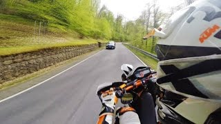 Supermoto on limit? // RAW 19 // KTM SMC R 690 // Sumo fighters // Wheelie // Race // Engländer