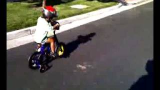 ryker showing early form as the best bike rider