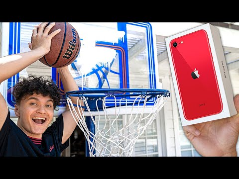 Make The Shot, Win iPhone Challenge