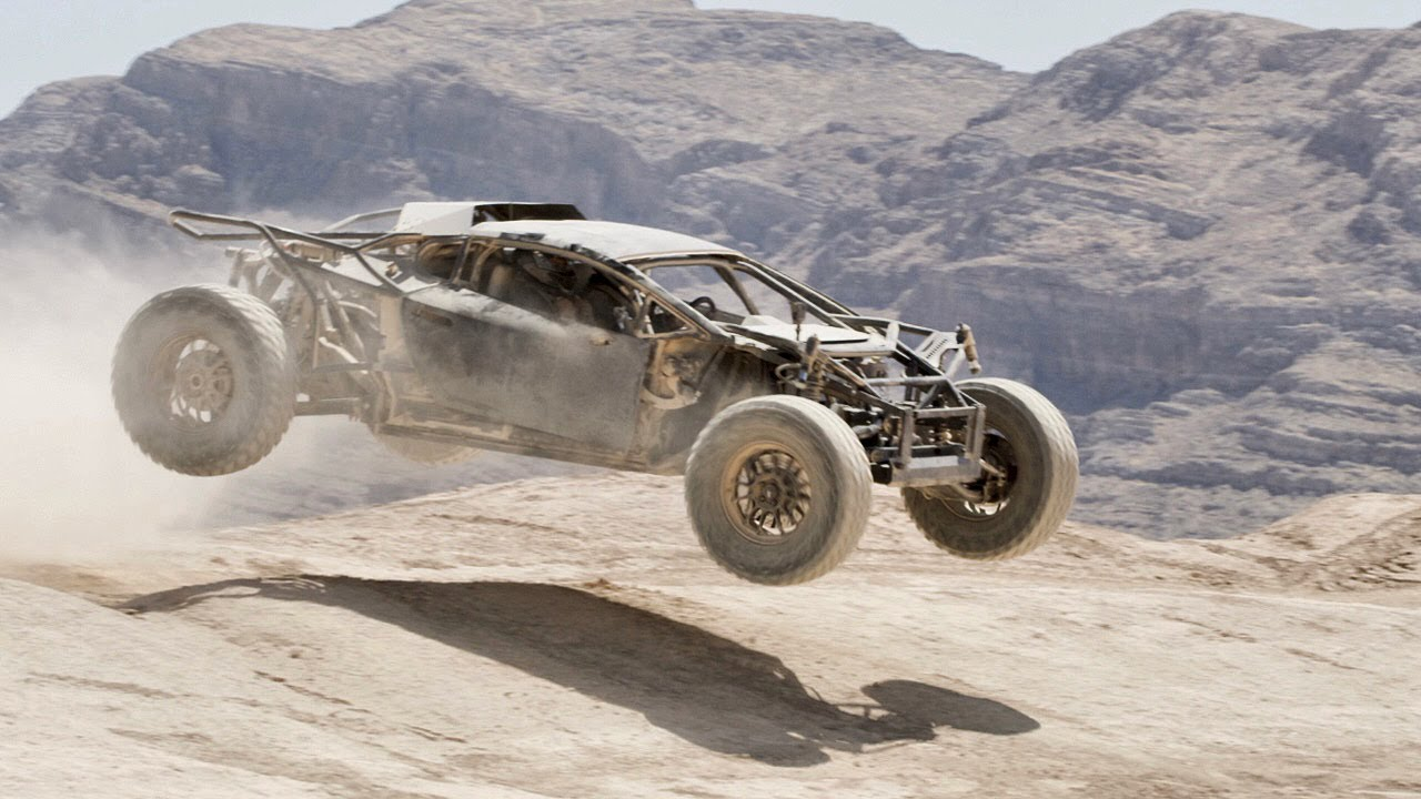Testing the Off-Road Lamborghini Huracan On The Mint 400 Track!