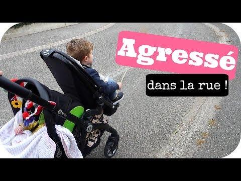 AGRESSE DANS LA RUE SOS !!! - Vlog famille