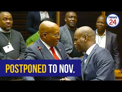 WATCH: Zuma due back in court on November 30