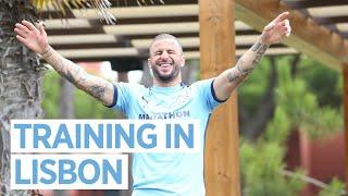 Preparing For Lyon | Champions League Training In Lisbon