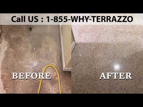 What is The Best way to Clean and Polish Terrazzo Floor in Miami?