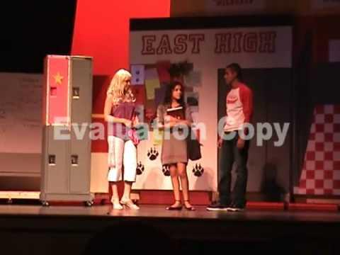 Pbc High School Musical Locker Scene Youtube