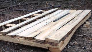 10 x 8 log cabin episode 4 floorboards part 2