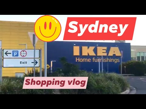 Sydney IKEA / Swedish Home Furniture And Home Accessories In Australia / Shopping Vlog