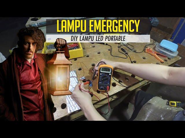 Buat Sendiri Lampu LED Emergency Portable 1 H3NDY