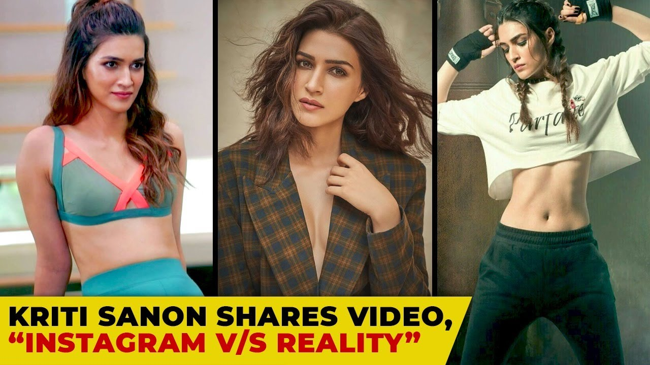 Kriti Sanon Shares Instagram Reality video as She Struggles In The Gym On Leg Day   Bollywood B Town