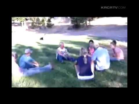 Footage of Evacuees at Manton Elementary School