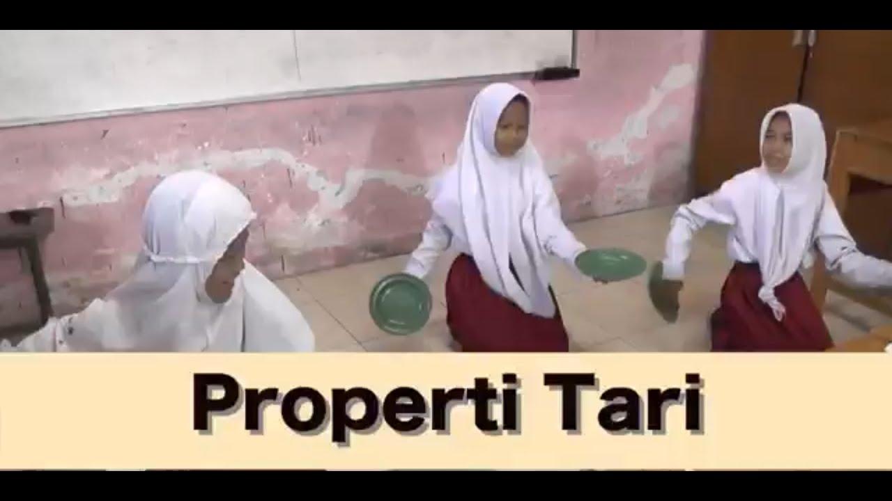 Kelas 5 Seni Budaya Prakarya Properti Tari Video Pendidikan Indonesia Youtube