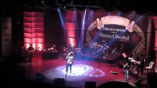 Shreya Ghoshal Chennai Concert 2013 - live on stage