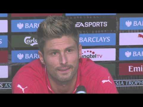Reacciones-Everton (1) vs (3) Arsenal   Premier League Asia Trophy 2015