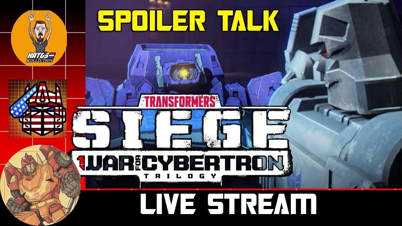 SPOILER Filled NETFLIX Siege Conversation with Rodimus Primal, Patriot Prime and Kato