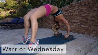 Warrior Wednesday #8 - Bridge Push Up