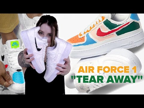 nike air force 1 tear away donna