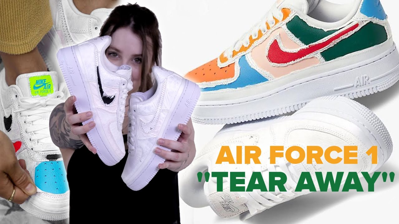 air force 1 lx tear aeay