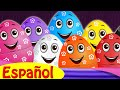 Huevos sorpresas animals salvajes | ChuChu TV Sorpresa