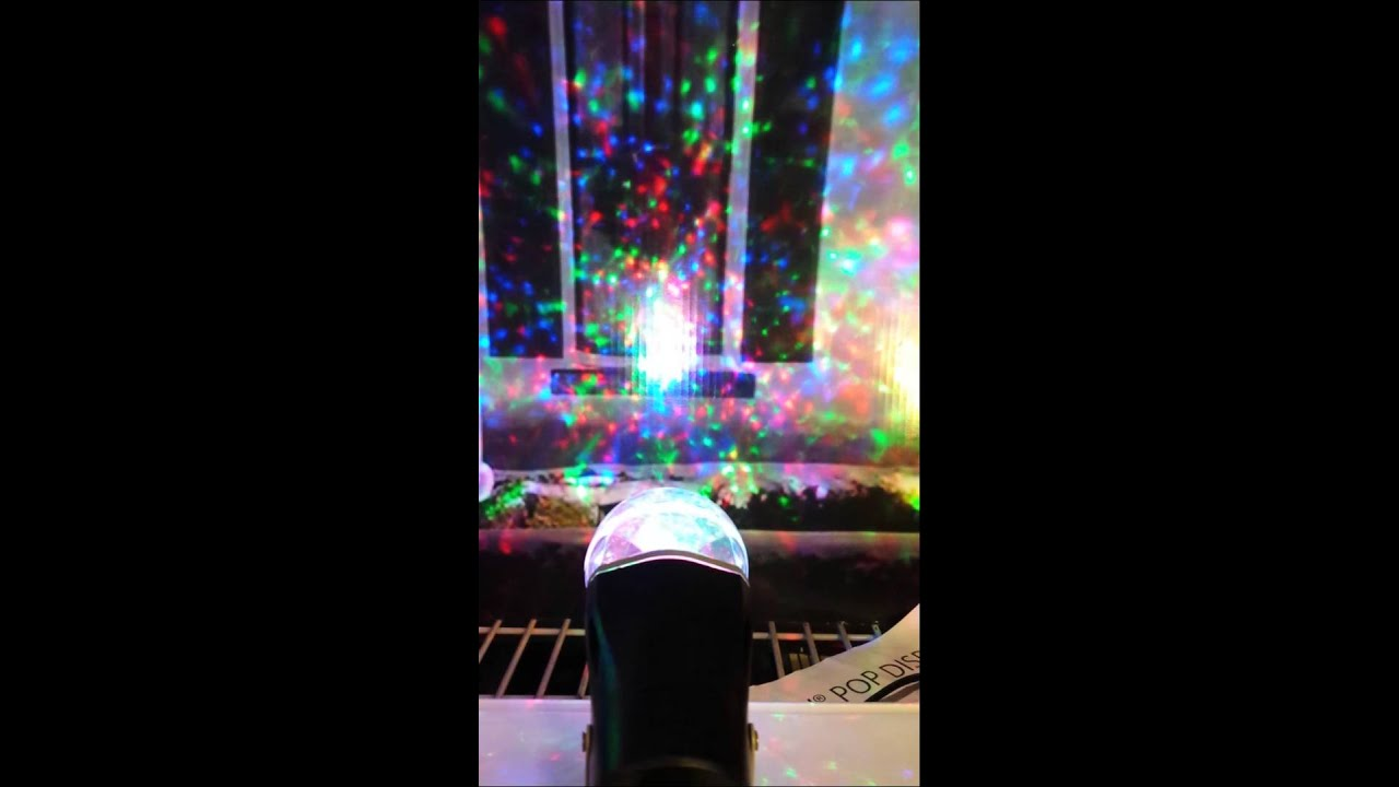 Gemmy Lightshow Christmas color projector - YouTube