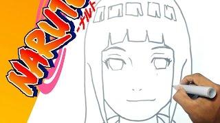 Como dibujar a HINATA - Naruto paso a paso | how to draw HINATA - Naruto