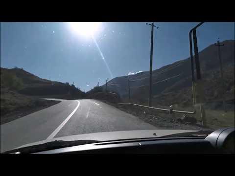 Дорога в высокогорное село Тазбичи из Итум-Кали | октябрь 2019, горная Чечня