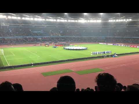 Indian National Anthem FIFA U-17 WC India Vs Colombia