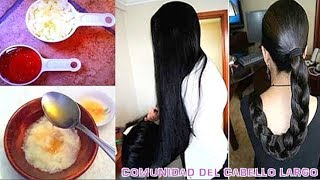 ¡la mejor receta para hacer que el cabello crezca rápido