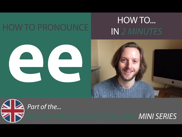 How To Pronounce Vowel Sounds - Long Vowel Sounds ee