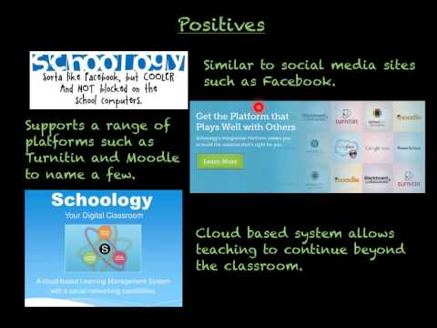 Schoology, The Pro's and Cons