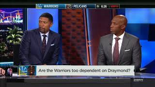 Are the Warriors too Dependent On Draymond Green? | NBA Countdown | Oct 20, 2017