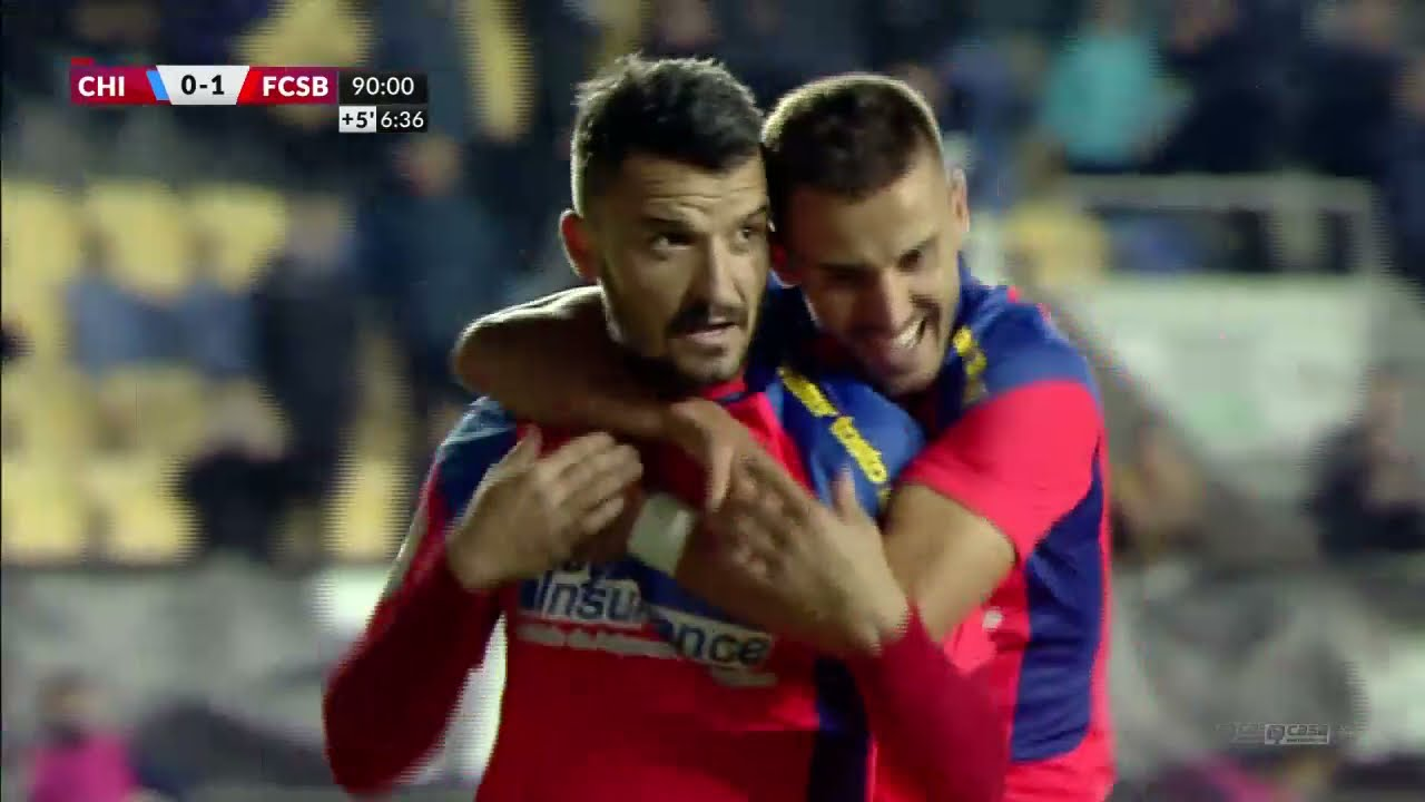 REZUMAT | Chindia Târgovişte - FCSB 0-1. Gol Budescu. Victorie obținută când nu mai spera nimeni