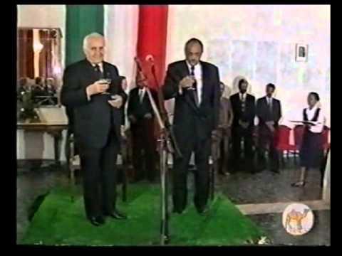Eritrea, Italian President in Asmera 1997