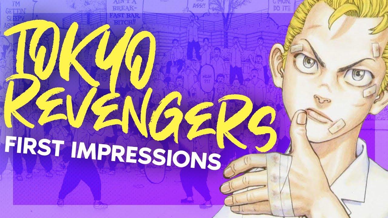 TOKYO REVENGERS MANGA REVIEW   Manga First Impressions