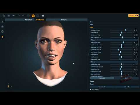 Cryengine Tutorial ENG :Complete Character Creator.