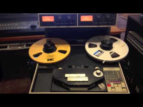 Ampex ATR 102 - How to Use Small Reels