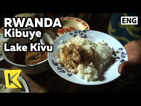 【K】Rwanda Travel-Kibuye[르완다 여행-키부예]키부 호수, 섬마을의 만찬/Lake Kivu/Island Village/Banana/Rice/Fish/Food