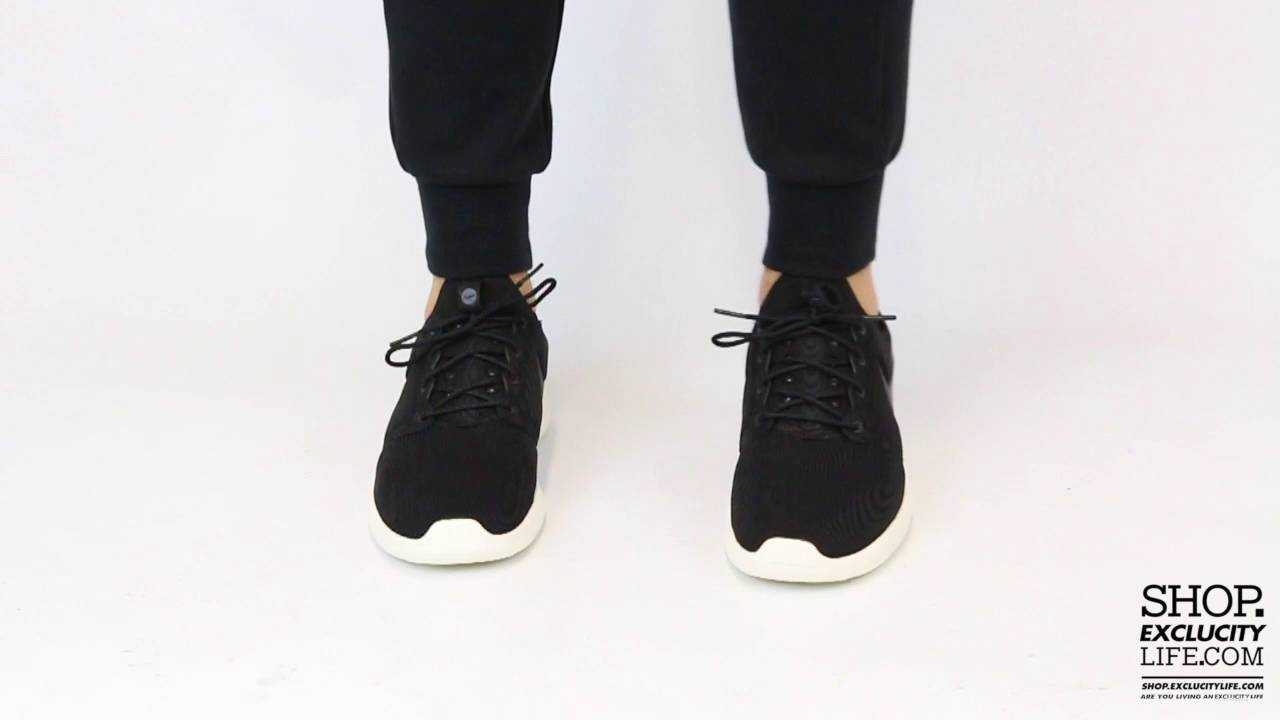 953edbd43e8f ... greece nike roshe two black sail on feet video at exclucity youtube  d9dc4 fac8d