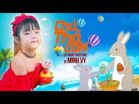 Chú Thỏ Con ♪ Bé Minh Vy [MV 4K]☀ Ca Nhạc Thiếu Nhi Hay Nhất Cho Bé