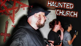 SCARY GHOST HUNTING ENCOUNTER AT HAUNTED ABANDONED CHURCH (WHO OR WHAT HAUNTS THIS PLACE?)