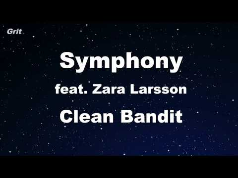 Symphony feat Zara Larsson  Clean Bandit Karaoke 【No Guide Melody】 Instrumental