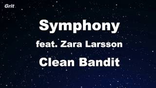 Video Symphony feat. Zara Larsson - Clean Bandit Karaoke 【No Guide Melody】 Instrumental download MP3, 3GP, MP4, WEBM, AVI, FLV Agustus 2018