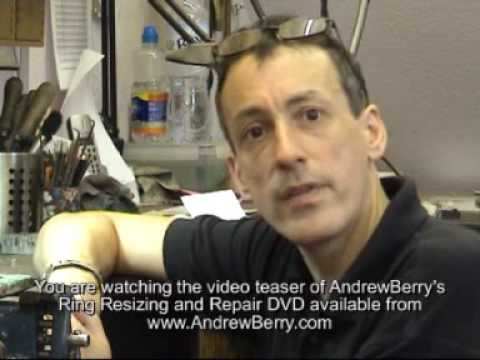 Jewellery Repair and Manufacture - How to Resize and Repair Rings DVD