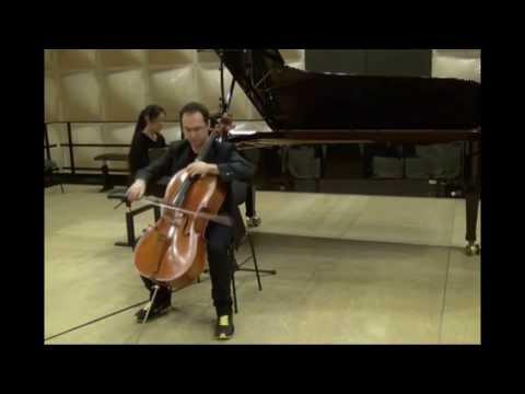 A.Dvorak - Cello concerto in B minor 1st mvt - Yann Merker (Cello) & Keiko Tamura (Piano)