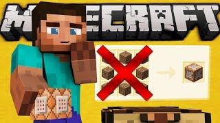 Why You Can't Craft Command Blocks - Minecraft