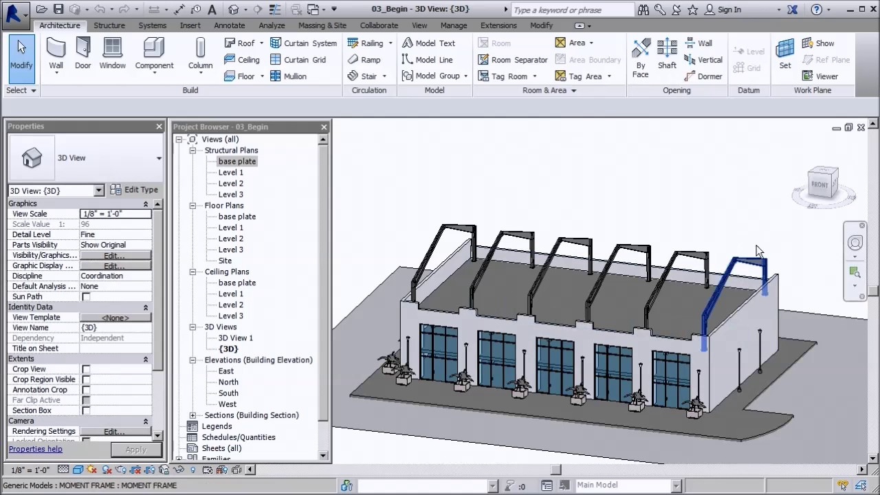 Modeling Light Gauge Steel in Revit - YouTube
