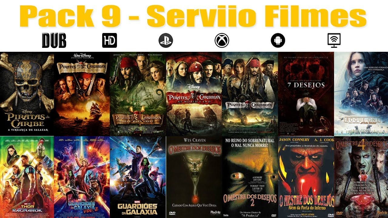 Serviio filmes pack 9 youtube