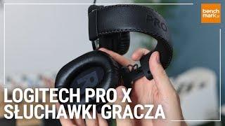 Słuchawki dla gracza - Logitech PRO X