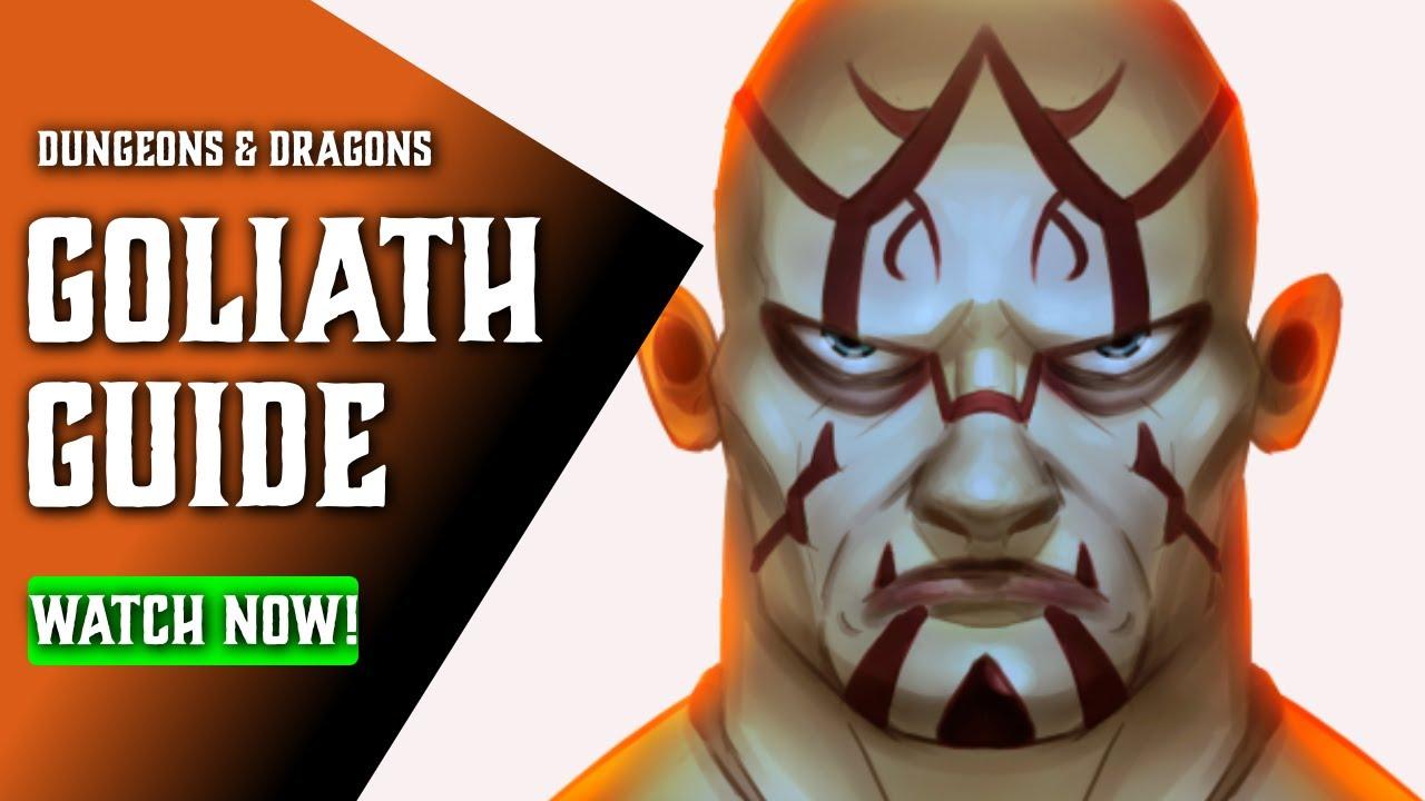 Download Goliath 5e Races for DnD