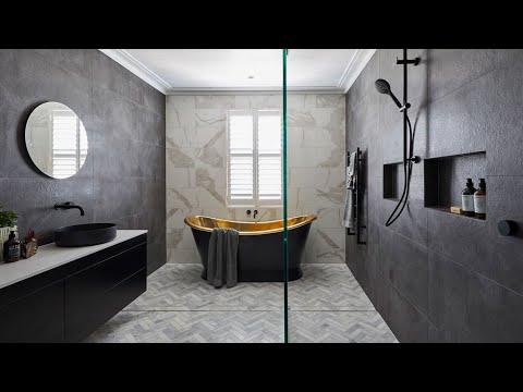 Modern Bathroom Tile Design Ideas For Beautiful House Youtube